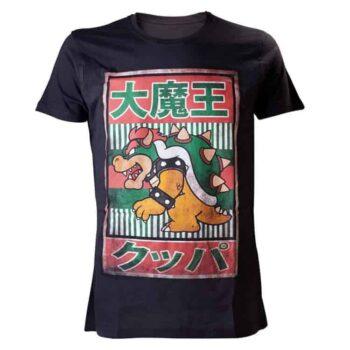 Altijd PrutsShop Mario Bowser Kanji Shirt