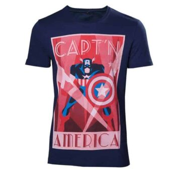 Marvel – Vintage Captain America Shirt
