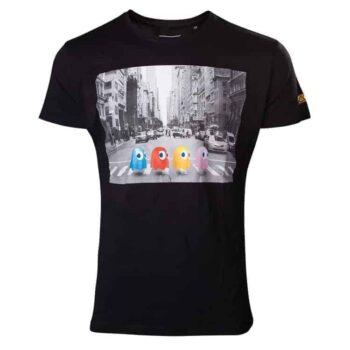 Pac-Man Beatles Geïnspireerd Zebrapad Shirt