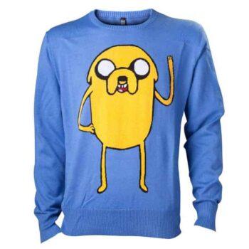 Adventure Time, met deze officiële blauwe Jake trui!