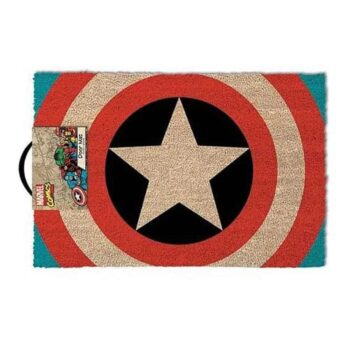 Captain America Shield Logo Deurmat