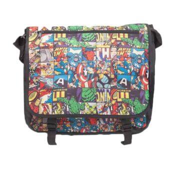 Marvel – Comics All Over Messenger Bag