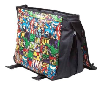 Marvel – Comics All Over Messenger Bag
