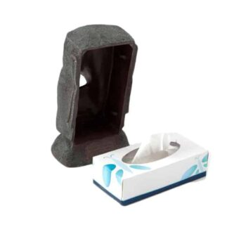 Rotary Hero Moai Tissue Box Houder