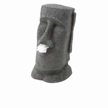Rotary Hero Moai Tissue Box Houder