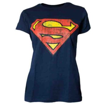 Superman Logo Dames Shirt