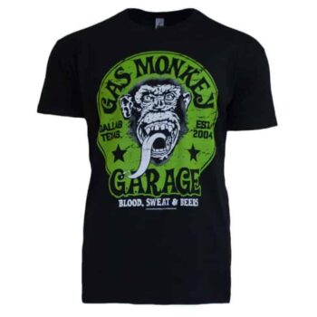 Gas Monkey - Blood Sweat & Beers Shirt