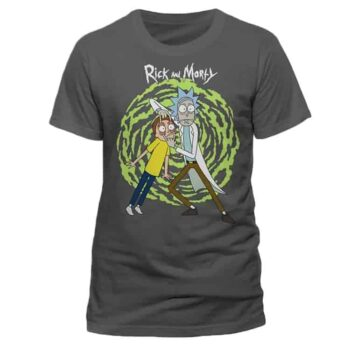 Rick En Morty – Rick And Morty Spiral Shirt