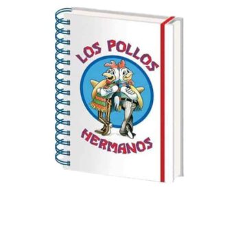 Breaking Bad – Los Pollos Hermanos A5 Notitieboek
