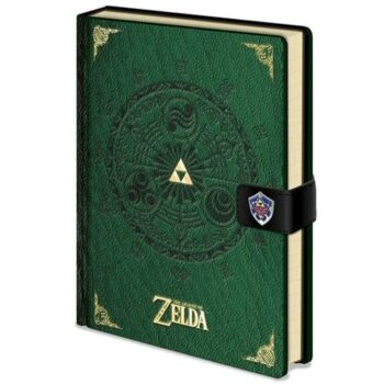 Zelda Notitieboek – Premium A5 The Legend Of Zelda