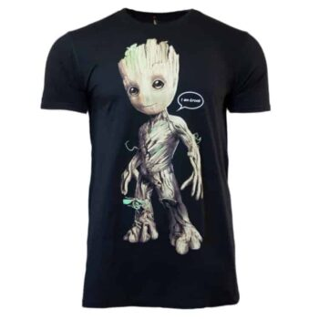 Guardians Of The Galaxy – Baby Groot I Am Groot! Speech Bubble Shirt