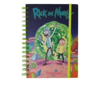 Rick and Morty - Portal A5 Notitieboek