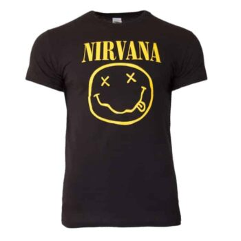 Nirvana shirt – Smiley
