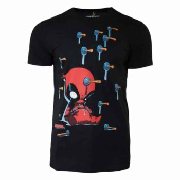 Deadpool shirt- Suckers Marvel