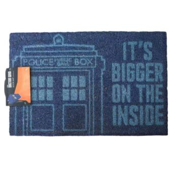 Doctor Who deurmat Tardis - It's bigger on the inside!