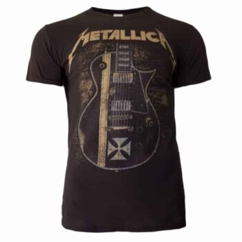 Metallica shirt – Hetfield Guitar Iron Cross