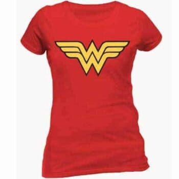 Wonder Woman Dames Shirt - Classic Logo