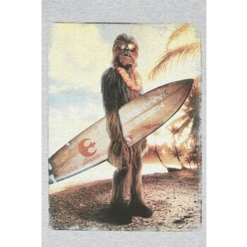 Star Wars Shirt – Chewie on the Beach