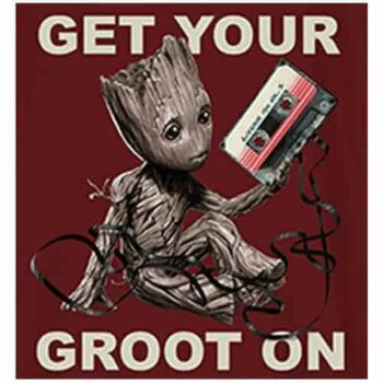 Baby Groot kindershirt - Guardians of the Galaxy Get You're Groot On