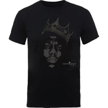 Biggie Shirt - The Notorious B.I.G. Black Crown