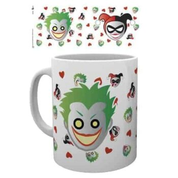 Harley Quinn and the Joker Mok - Dc Comics Emoji