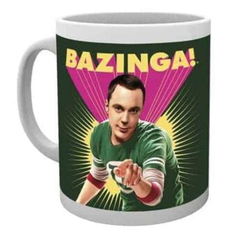 The Big Bang Theory Mok - Sheldon Bazinga