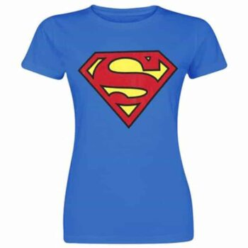 Superman Dames shirt – Classic Logo