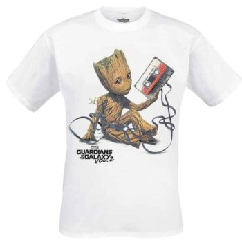 Baby Groot Shirt Guardians of the Galaxy Mix Tape