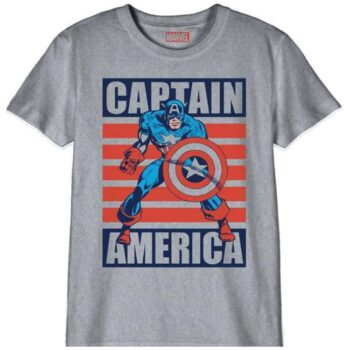 Captain America Kindershirt – Attack