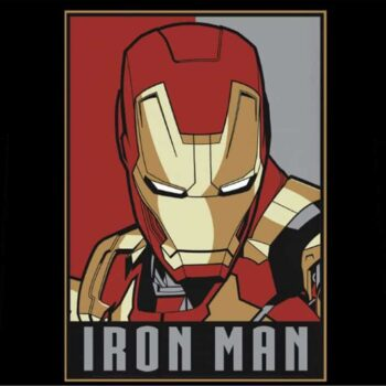 Iron Man Kindershirt – Obey Style