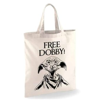 Harry Potter Linnen Tas – Free Dobby