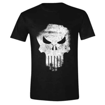 Punisher Shirt - Distressed Skull - Marvel