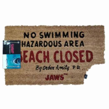Jaws – Beach Closed Deurmat