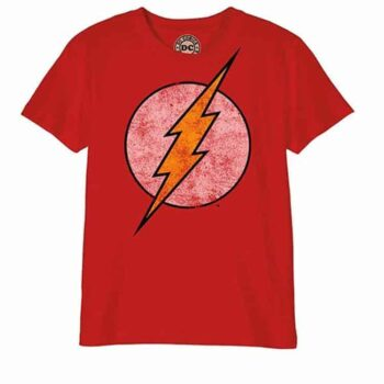 Flash Kindershirt – Logo Distressed