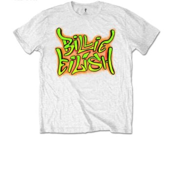 Billie Eilish kindershirt – Graffiti