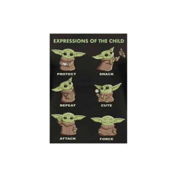 Baby Yoda damesshirt – Child Expressions