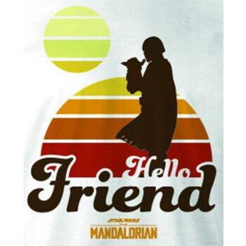 Baby Yoda – Mandalorian Hello Friend
