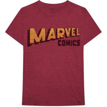 Marvel Comics Shirt - Wrapped Logo
