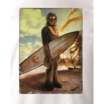 Star Wars Shirt – Chewie on the Beach wit