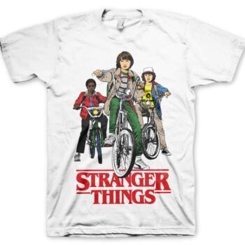 Stranger Things Shirt – Bikes
